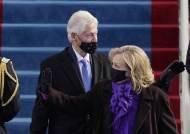 트럼프 불참한 바이든 취임식, 부시·클린턴·오바마는 왔다