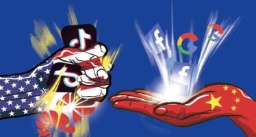 """중국 """"화웨이-구글 서로 풀고, 북핵 4자 회담 열자"""""""