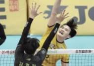 [포토]김정호, 블로킹 벽을 넘겨라