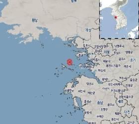 """인천 옹진 서남서쪽 해역서 규모 2.2 <!HS>지진<!HE>…""""<!HS>지진<!HE>동 느낄 수 있어"""""""