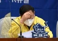 """김태년 """"MB 불법사찰이 정치공작? 방귀 뀐 놈이 성내는 격"""""""