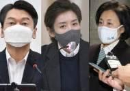안철수 41.9% vs. 박영선 39.9%…朴vs.羅 는 오차범위 내 접전
