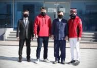 프로야구 KT 위즈, 기장군 환영식 행사 참석