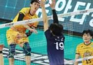 KB 박진우 코로나19확진,남자부 경기 잠정 중단