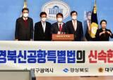 """국민의힘 TK의원들 """"대구·경북 신공항 특별법 신속 제정"""" 촉구"""