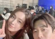 """이민정X권상우, 선남선녀 투샷 """"올해 '크리스마스 선물'"""""""