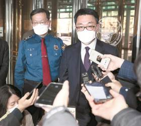 [사진] 경찰청 찾은 김진욱 공수처장