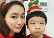 """'이병헌♥' 이민정, 아역배우 김준과 선물같은 순간 """"귀염둥이"""""""