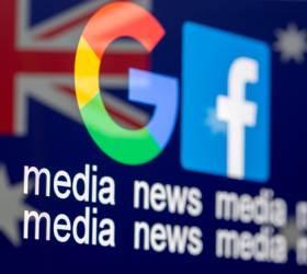 """호주, 뉴스 사용료 법 제정…<!HS>페이스북<!HE>도 결국 """"10억달러 낼것"""""""