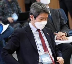 이인영 장관 또 '모노드라마'?…북한 무반응<!HS>,<!HE> 미국선 반대