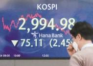 미 국채 금리 상승 '기침'에 코스피 3000이 깨졌다
