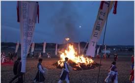 조용철의 마음 풍경 '불멍'의 원조 정월대보름 달집 태우기