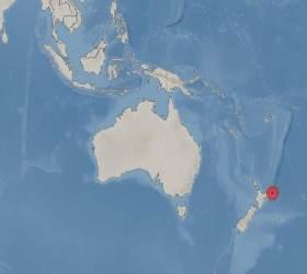 """뉴질랜드 해역서 규모 6.9 <!HS>지진<!HE>…""""쓰나미 가능"""""""