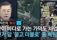 [윤석만의 뉴스뻥] 선거앞 가덕도 풀베팅…4대강 때리던 與의 역설