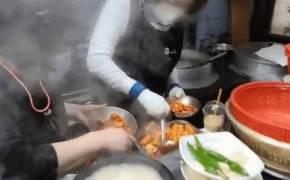 고모 국밥집서 생방송한 BJ···카메라에 딱 걸린 '김치 재탕'
