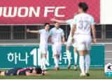박지수 데뷔전서 부진에 레드카드...수원FC 첫 승 또 실패