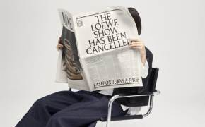 로에베, 패션쇼 대신 신문 발행한 이유는?