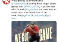 """타이거 우즈, 골프 비디오 게임으로 복귀 신고···""""전문지식 나누겠다"""""""