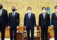 """美 """"한국과 협의해서 중국 관련 과제 극복할 것""""…""""대중 압박 동참하라는 뜻"""""""