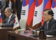 북한 미사일 쏜 날 한ㆍ미 연합훈련 중단 요구한 러 외교장관