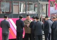 김정은, 미사일 대신 민생…평양 주택단지 부지시찰