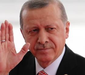 푸틴 대신해 바이든 공격···러·중과 손 잡은 터키 에르도안