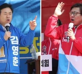 """김영춘 """"가덕공항"""" 박형준 """"어반루프""""…부산 빅2 공약 점수는?"""