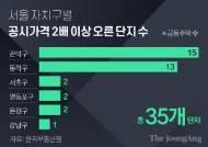 은평 연립 2억→12억대···서울 35곳, 공시가 2배이상 뛰었다