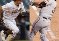 'MLB 조우' 김하성·러프, 엇갈린 희비...러프만 웃었다
