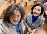 """김어준 또 찾은 박영선 """"文 간절한 눈빛···우리가 이기고 있다"""""""