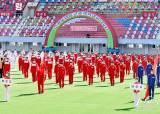 [사진] <!HS>평양<!HE>선 태양절 앞두고 체육대회