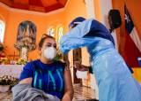 인구 37% <!HS>백신<!HE> 맞은 칠레, 하루 8000명 확진 왜