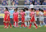 여자축구, 올림픽 최종예선 1차전 중국에 분패