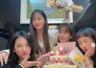 """'데뷔 14주년' 카라 멤버들 모여 """"의미있는 시간"""""""