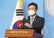與 원내대표 경선…'친문 핵심'윤호중 vs '쇄신 기치'박완주