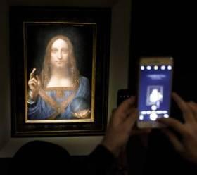 행방 묘연한 다빈치 그림, <!HS>사우디<!HE> 왕세자 요트에 걸려있었다