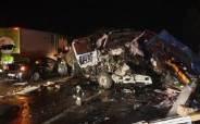 통영대전고속도 함양휴게소 인근 차량 5대 추돌…1명 사망