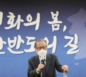 """정세현 """"美, <!HS>김일성<!HE> 생일날 '대북전단'청문회…의도가 불순"""""""