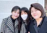 한지민, 길혜연X이정은 '로스쿨' 커피차 응원···눈부신 의리