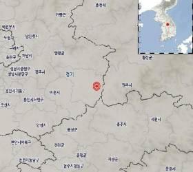 """기상청 """"경기 여주 동쪽서 규모 2.2 <!HS>지진<!HE> 발생"""""""