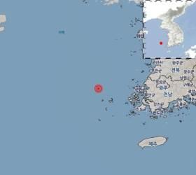 """전남 신안 흑산도 북서쪽서 규모 3.7 <!HS>지진<!HE>... """"피해는 없어"""""""