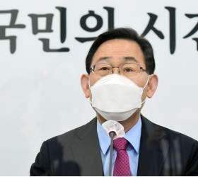 """비문·친문 벌리는 野 """"김부겸 축하, 윤호중과 불협화음 없길"""""""