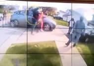 플로이드 죽인 경찰 재판날, 또 경찰이 흑인 소녀에 탕탕탕[영상]