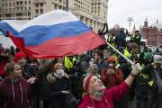 """[지금 이 시각] """"푸틴은 살인자"""", 러시아 전역에서 나발니 석방 요구 시위"""