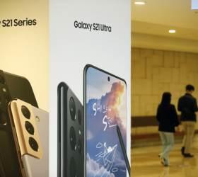 갤S21 덕분에…삼성, <!HS>애플<!HE> 제치고 다시 스마트폰 세계 1위