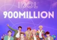 방탄소년단 'IDOL' 뮤직비디오, 9억뷰 돌파...통산 6번째 9억뷰 MV
