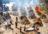 [사진] 인도 하루 2700명 코로나 사망, <!HS>화장장<!HE> 연기 자욱한 뉴델리