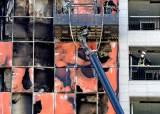 [사진] 화재로 검게 그을린 남양주 오피스텔