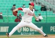 [현장 IS]SSG 좌완 오원석, 개인 최다 이닝·탈삼진·첫 QS까지
