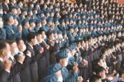 [사진] 북 마스크 쓰고 결의대회
